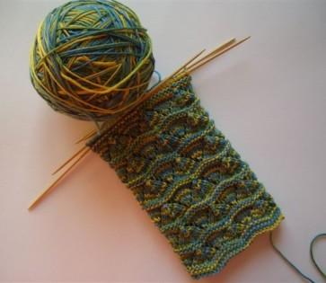 Wollfeewolle-Socken